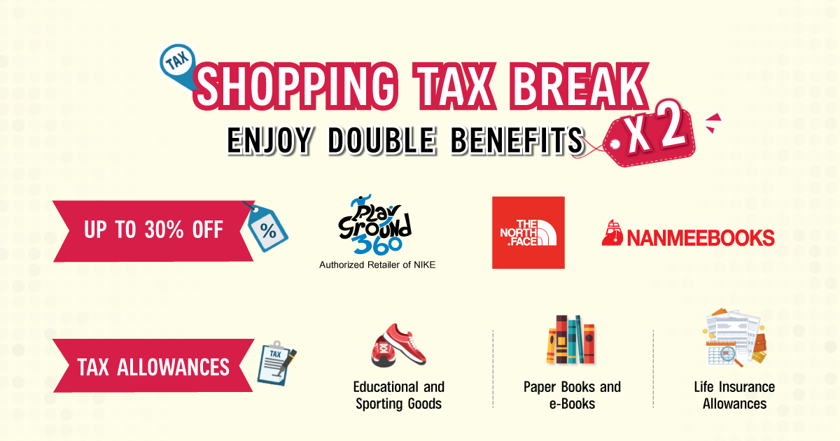 Save on Shopping and Enjoy Tax Break Benefits
