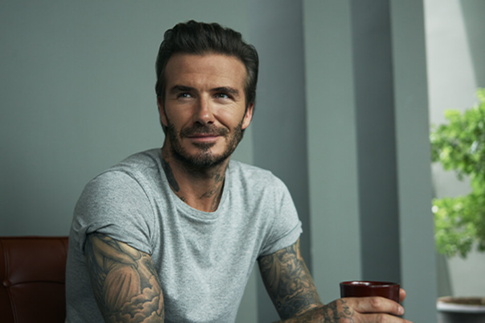 DAVID BECKHAM'S TIPS FOR BETTER SLEEP