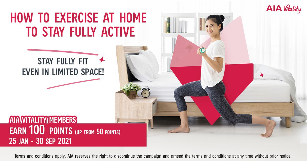 Stay fully fit even in limited space!