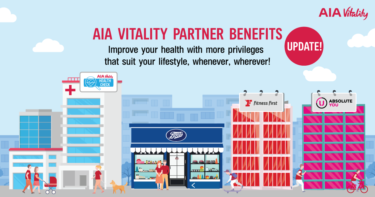 Update! The New AIA Vitality Partner Benefits